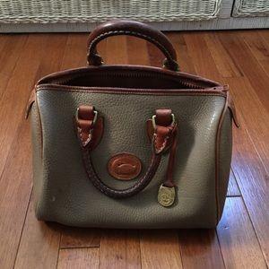 Vintage Dooney & Bourke leather doctor bag